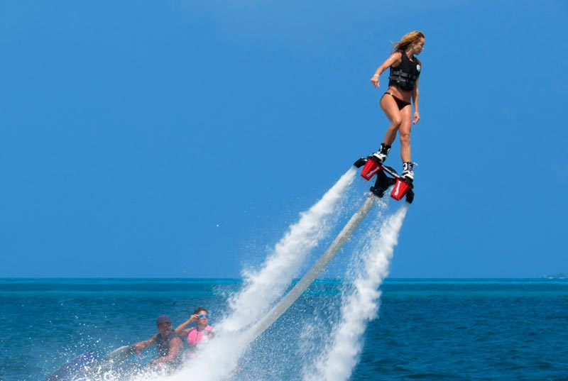flyboard contact